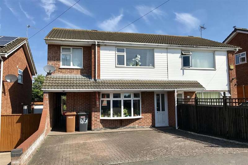 4 Bedrooms Semi Detached House for sale in Edendale Road, Melton Mowbray
