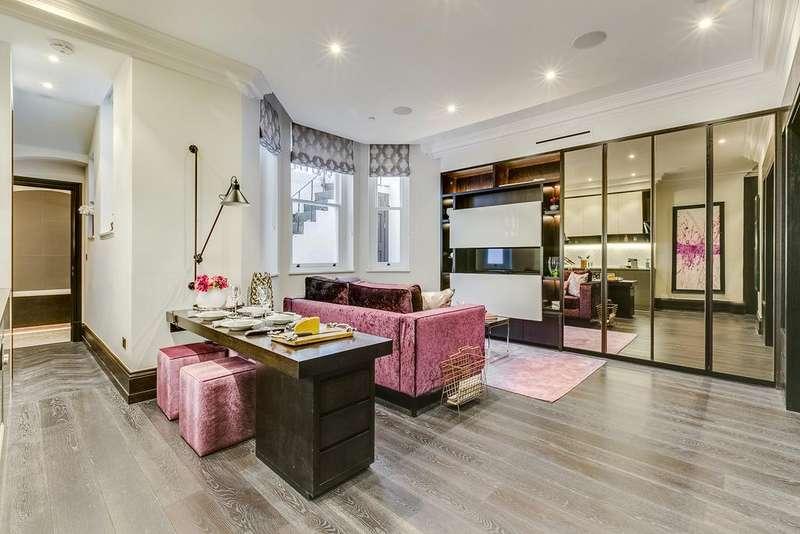 Studio Flat for sale in Beaufort Gardens, Knightsbridge