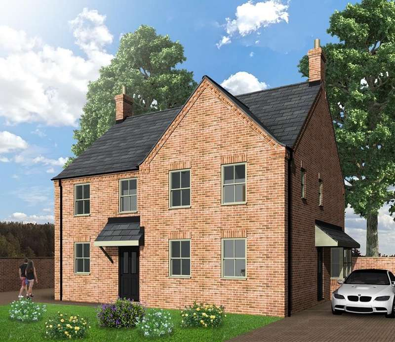 2 Bedrooms Semi Detached House for sale in Spire View, Boston Road, Heckington, Sleaford
