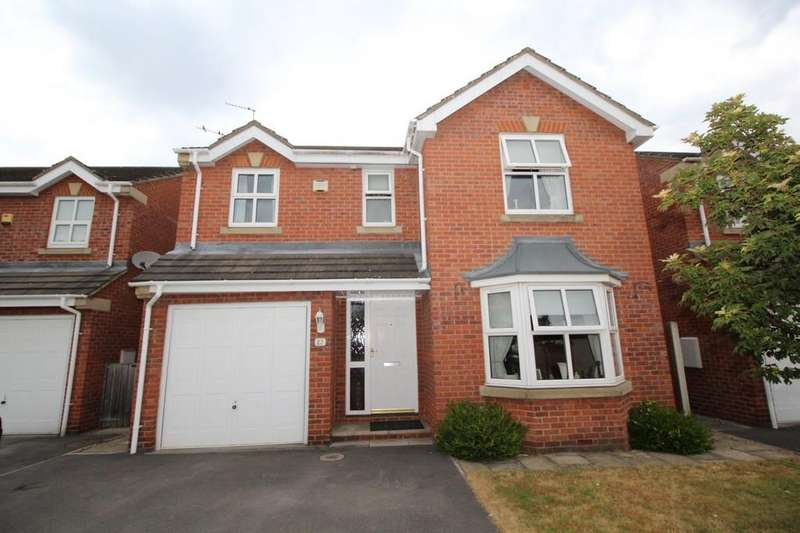 4 Bedrooms Detached House for sale in Highgrove Court, Altofts, Altofts, West Yorkshire