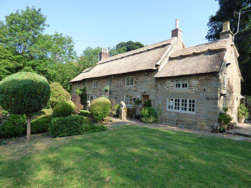4 Bedrooms Cottage House for sale in Stubben Edge Cottage, Ashover,, Chesterfield
