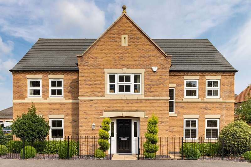5 Bedrooms Detached House for sale in Lothian Way, Greylees, Sleaford