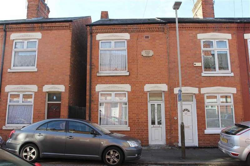 3 Bedrooms End Of Terrace House for sale in Moores Road, Belgrave, Leicester