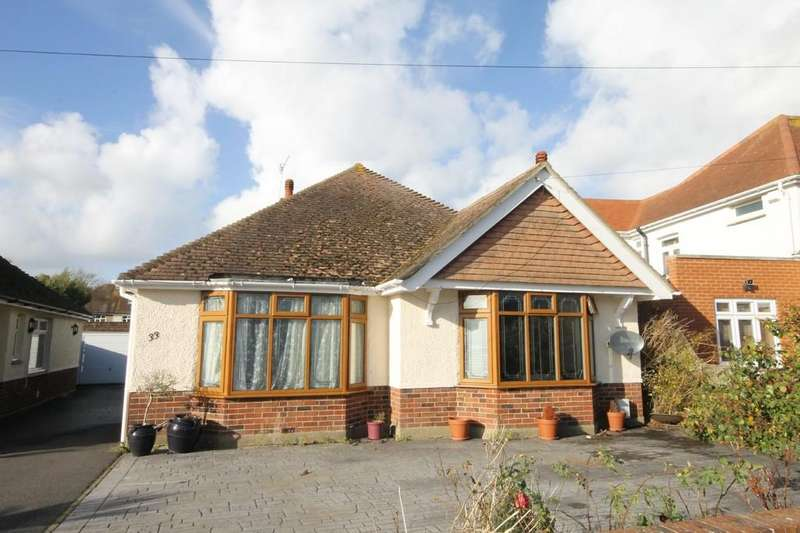 3 Bedrooms Detached Bungalow for sale in The Crescent, Southwick