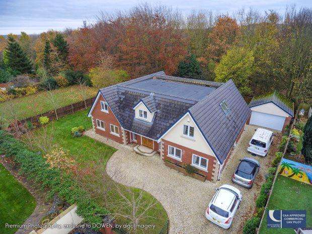 4 Bedrooms Detached House for sale in SOUTH VIEW, SPENNYMOOR, SPENNYMOOR DISTRICT