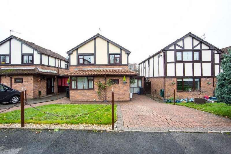 3 Bedrooms Detached House for sale in Beechcroft, Trelewis, CF46 6BP