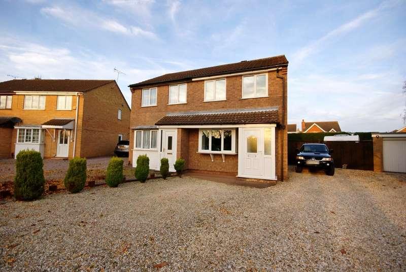 2 Bedrooms Semi Detached House for sale in Brough Close , Doddington Park LN6