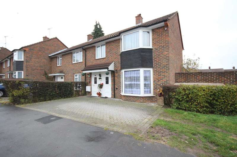 3 Bedrooms End Of Terrace House for sale in Shelley Avenue, Bracknell