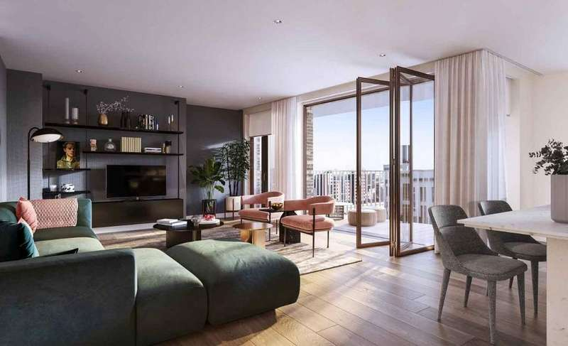 3 Bedrooms Apartment Flat for sale in Postmark, London WC1