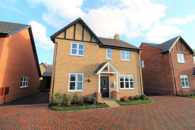 4 Bedrooms Detached House for sale in Mill Lane, Cranfield, Bedfordshire MK43