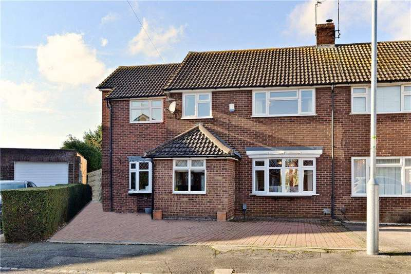 5 Bedrooms Semi Detached House for sale in Wentworth Close, Toddington, Dunstable, Bedfordshire