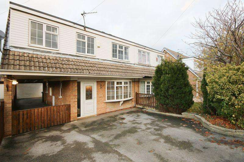 4 Bedrooms Semi Detached House for sale in Grasmere Drive, Elland