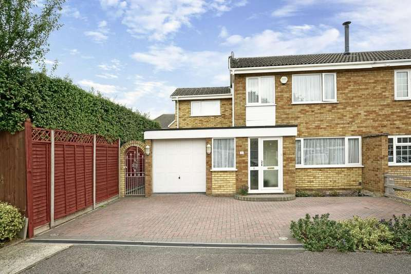 4 Bedrooms Semi Detached House for sale in Rivermead Gardens, Sandy