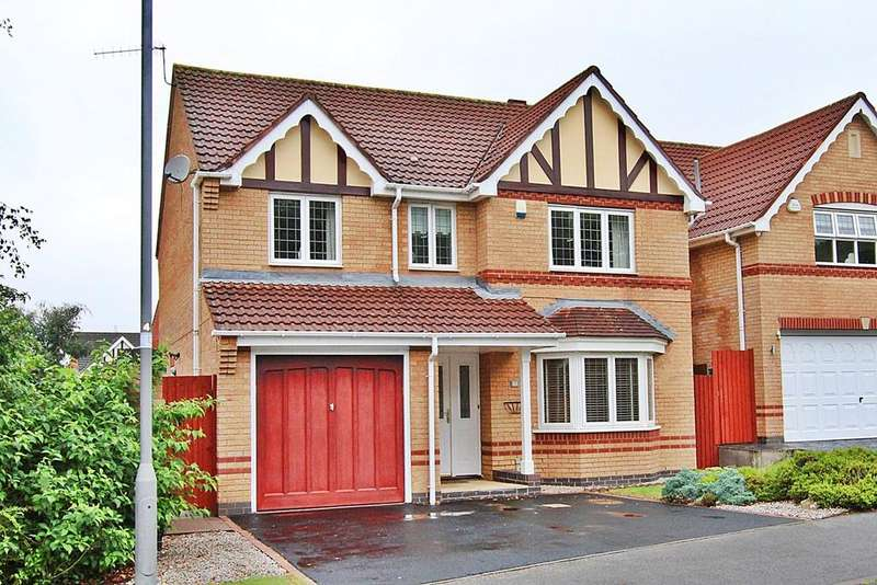 4 Bedrooms Detached House for sale in Wedgewood Gardens, St Helens, WA9