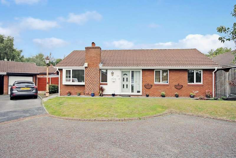 3 Bedrooms Detached Bungalow for sale in Hamsterley Close, Gorse Covert, Warrington, WA3