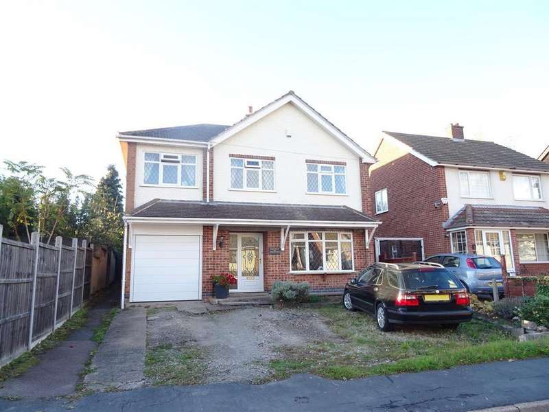 4 Bedrooms Detached House for sale in Woodlands Drive, Shepshed, Leicestershire