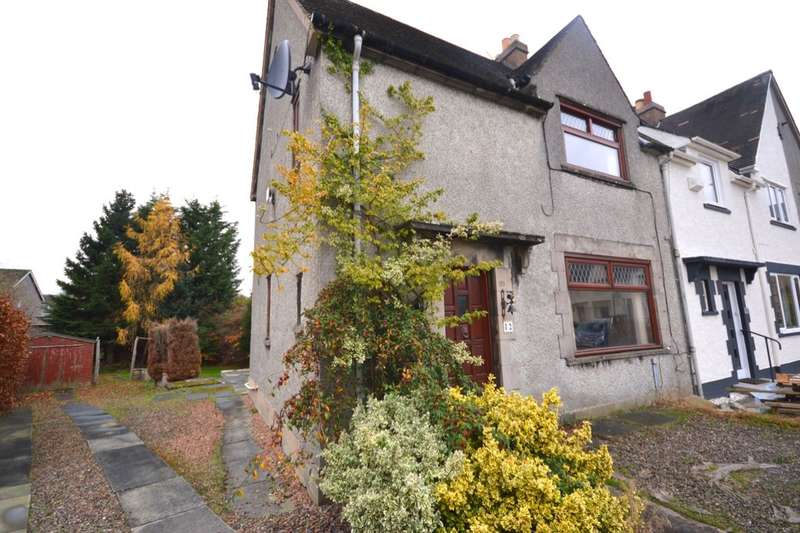 3 Bedrooms Semi Detached House for sale in Keavil Place, Crossford, Dunfermline, KY12