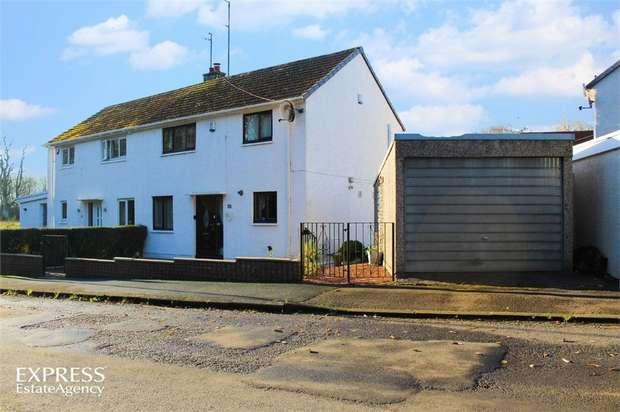3 Bedrooms Semi Detached House for sale in Adamton Estate, Monkton, Prestwick, South Ayrshire