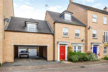 4 Bedrooms Link Detached House for sale in Lady Jane Walk, Scraptoft, Leicester, Leicestershire