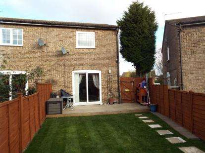 2 Bedrooms Semi Detached House for sale in Chelsworth Close, Luton, Bedfordshire