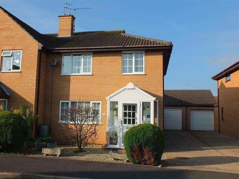 3 Bedrooms Semi Detached House for sale in Two Sisters Close, Sutton Bridge