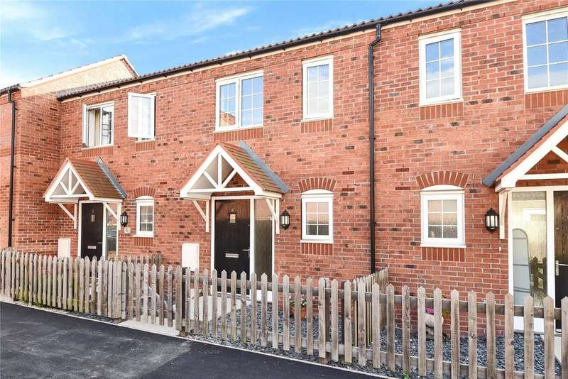 2 Bedrooms Terraced House for sale in Medina Walk, Spalding, PE11
