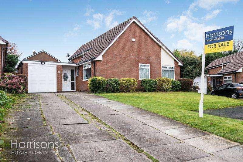 3 Bedrooms Detached Bungalow for sale in Lakelands Drive, Ladybridge, Bolton, Lancashire.