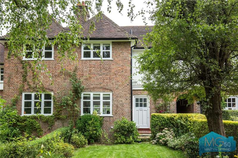 3 Bedrooms Terraced House for sale in Erskine Hill, Hampstead Garden Suburb, London, NW11