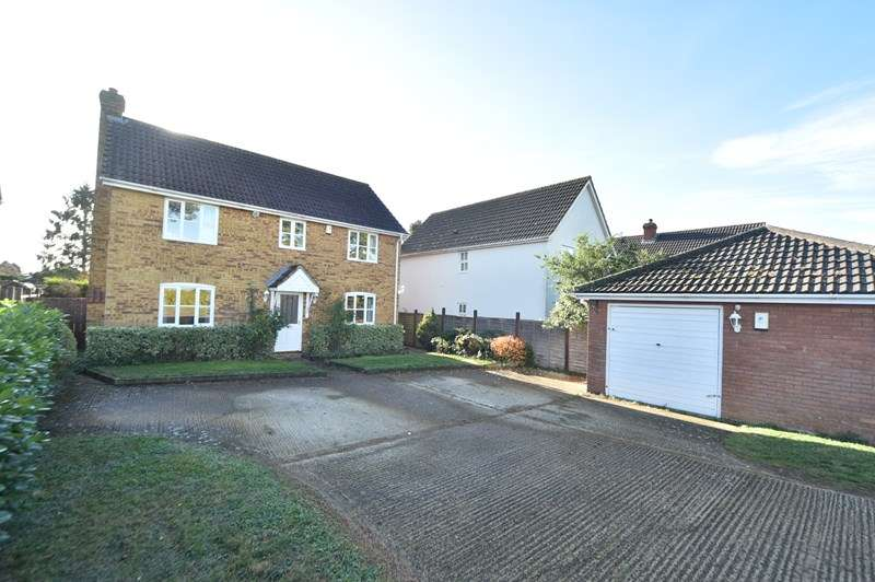 4 Bedrooms Detached House for sale in Maids Cross Hill, Lakenheath, Brandon