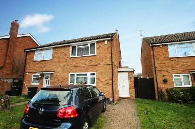 2 Bedrooms Semi Detached House for sale in Sundon Park Road, Luton, Bedfordshire, LU3 3AG