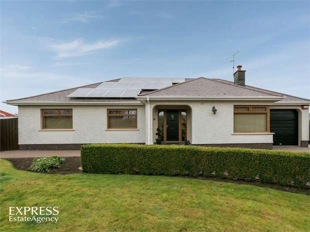 3 Bedrooms Detached Bungalow for sale in Farrenlester Road, Coleraine, County Londonderry