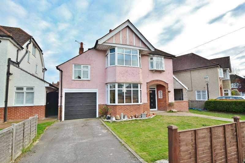 4 Bedrooms Detached House for sale in Upper Shirley
