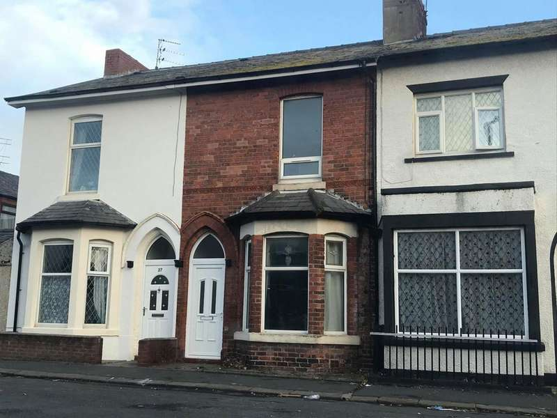 3 Bedrooms Terraced House for sale in Blakiston Street, Fleetwood, FY7