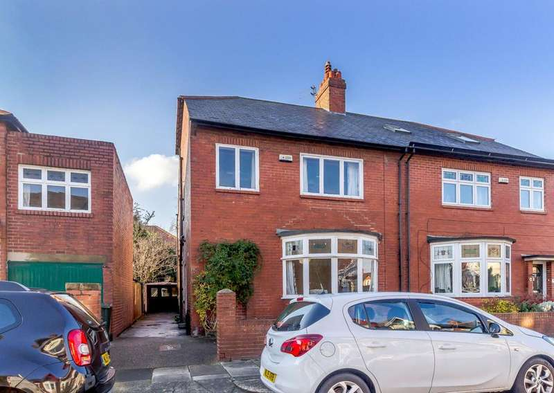 4 Bedrooms Semi Detached House for sale in Sefton Avenue, Heaton, Newcastle Upon Tyne, Tyne Wear