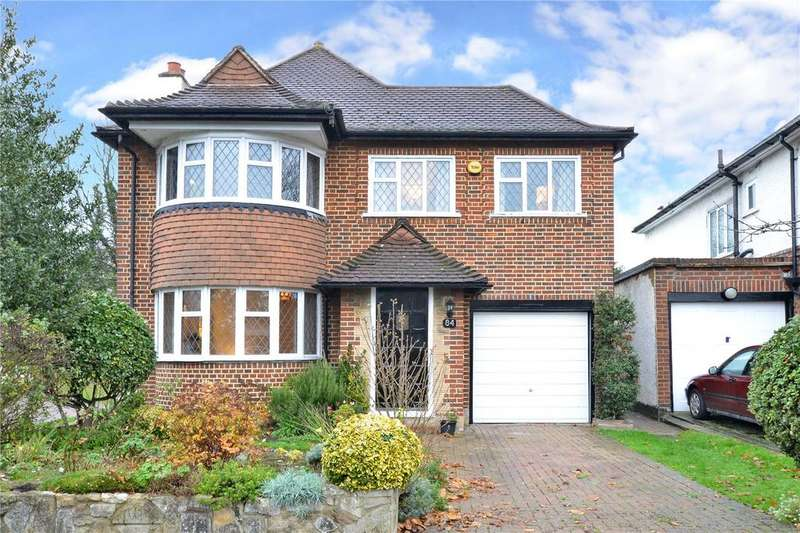 3 Bedrooms Detached House for sale in Tabor Gardens, Cheam, Surrey, SM3
