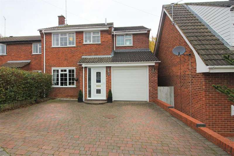 4 Bedrooms Semi Detached House for sale in Rouen Way, Ashby-De-La-Zouch