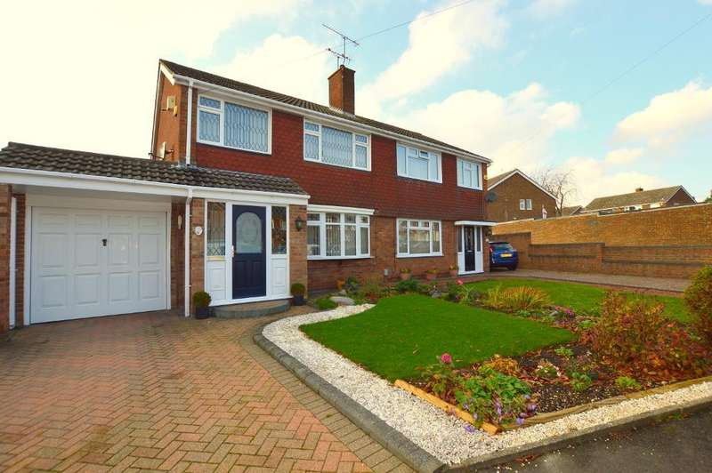 3 Bedrooms Semi Detached House for sale in Galston Road, Luton, Bedfordshire, LU3 3JZ