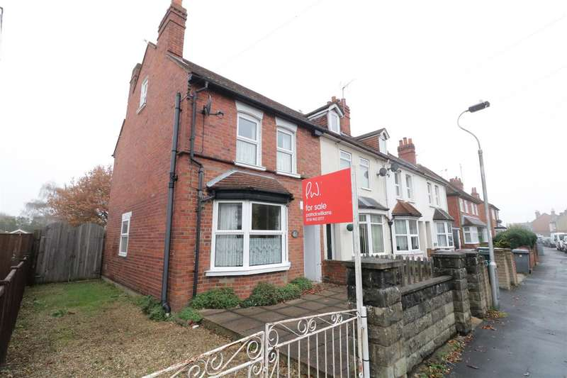 3 Bedrooms End Of Terrace House for sale in Recreation Road, Tilehurst, Reading