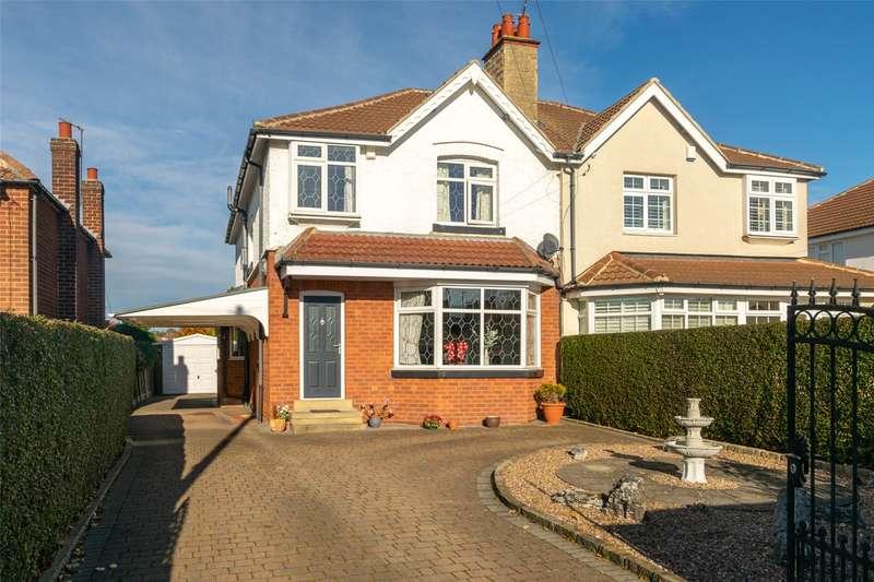 4 Bedrooms Semi Detached House for sale in Street Lane, Leeds, West Yorkshire, LS8