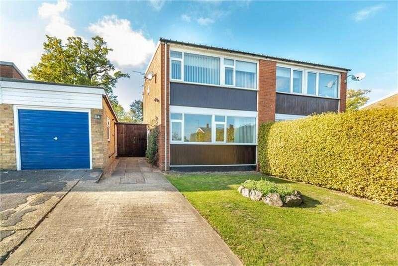 3 Bedrooms Semi Detached House for sale in Heron Way, HATFIELD, Hertfordshire