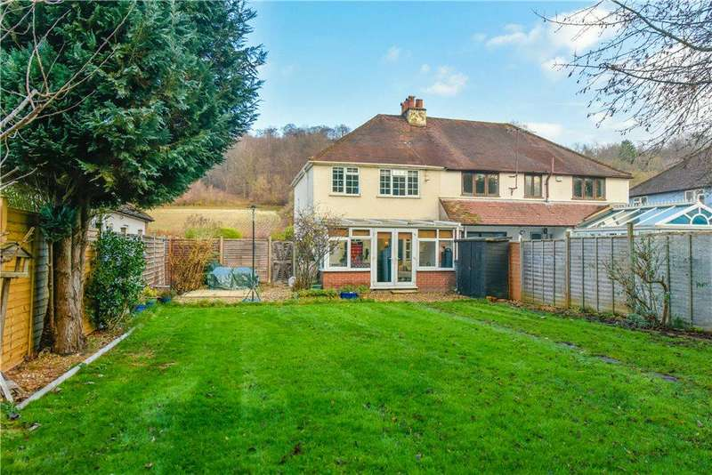 3 Bedrooms Semi Detached House for sale in Bradenham Road, West Wycombe, High Wycombe, Buckinghamshire