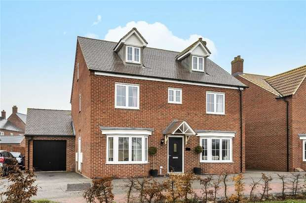 5 Bedrooms Detached House for sale in Fieldfare View, Wixams, Bedford