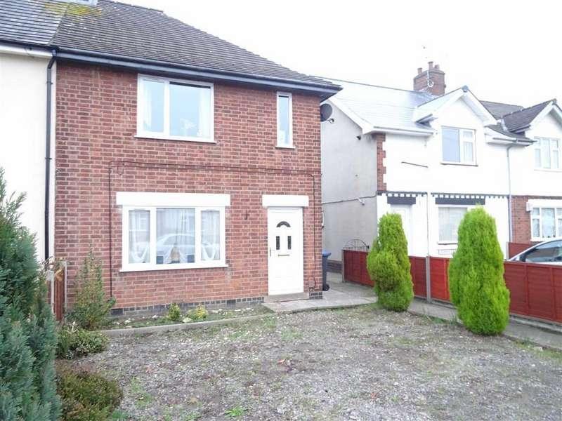2 Bedrooms Semi Detached House for sale in Stanley Road, Hinckley