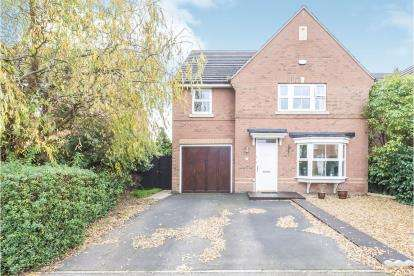 4 Bedrooms Detached House for sale in Sandleford Drive, Elstow, Bedford, Bedfordshire