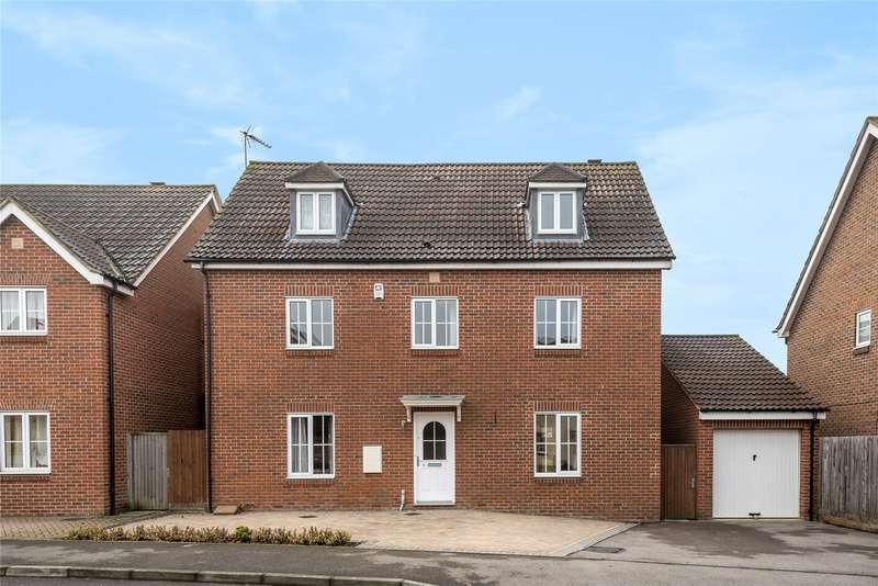 5 Bedrooms Detached House for sale in Dexter Way, Winnersh, Wokingham, Berkshire, RG41