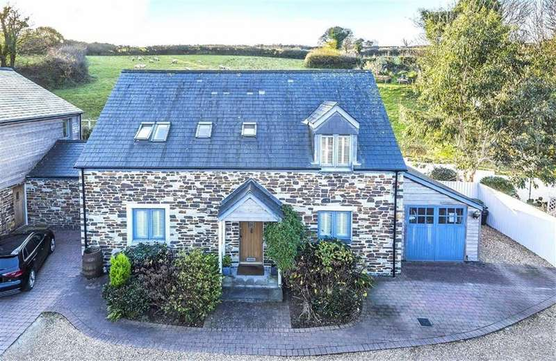 4 Bedrooms Detached House for sale in Polgooth, St Austell, Cornwall, PL26