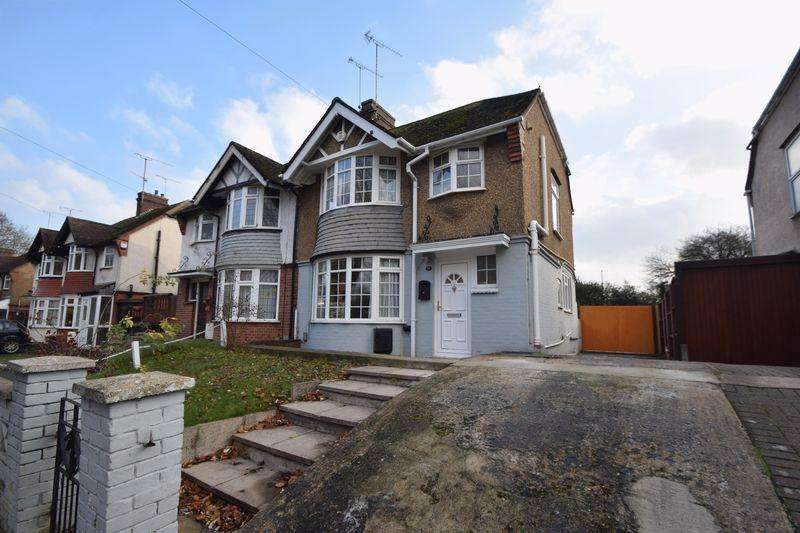 3 Bedrooms Semi Detached House for sale in Osborne Road, Luton