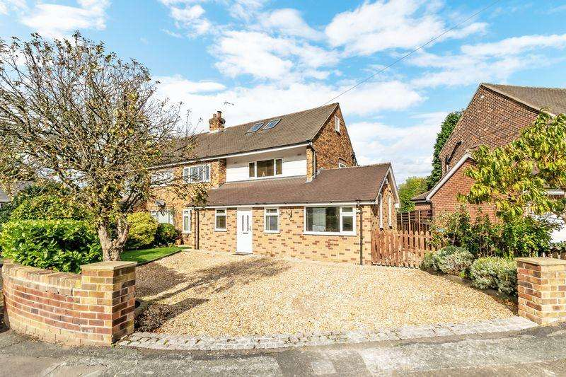 4 Bedrooms Semi Detached House for sale in Hillfoot Crescent, Stockton Heath