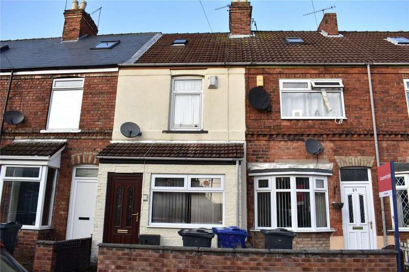 2 Bedrooms Terraced House for sale in Melrose Road, Gainsborough, DN21