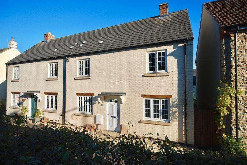 3 Bedrooms Semi Detached House for sale in Cuckoo Hill, Bruton